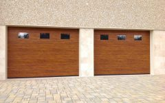Doppia porta garage medium