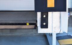 Dettaglio pedana idraulica