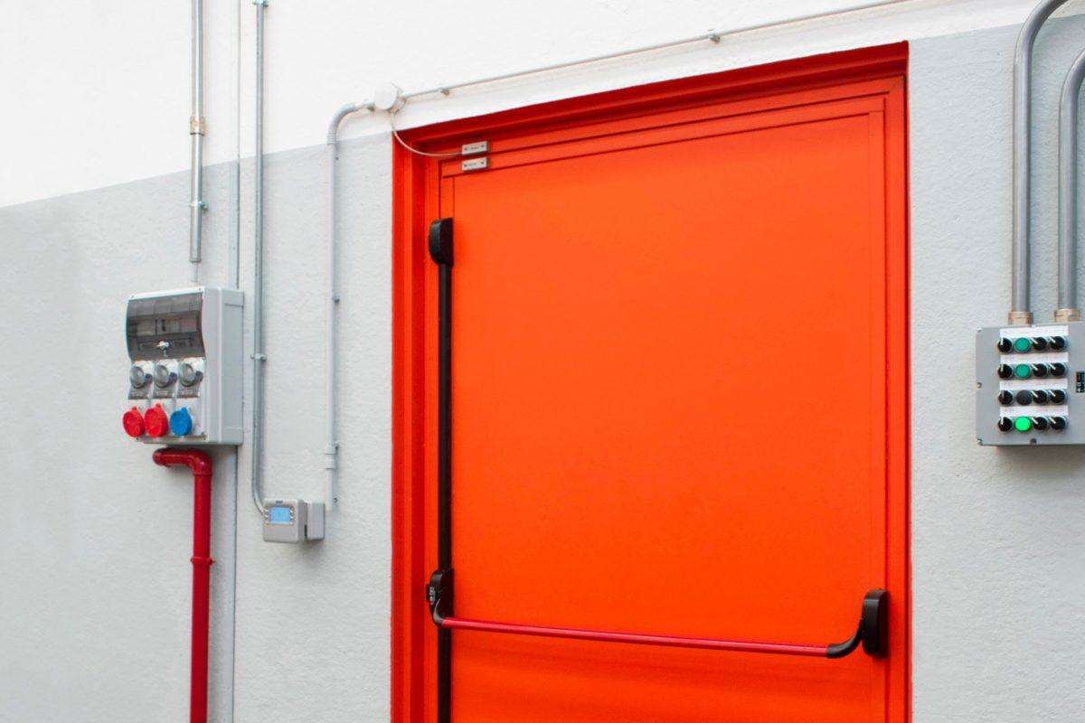 Porta sicurezza antincendio