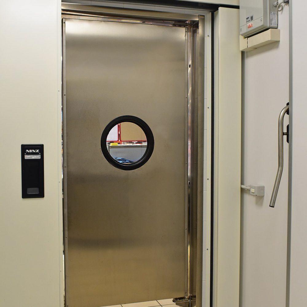 Porta flap inox