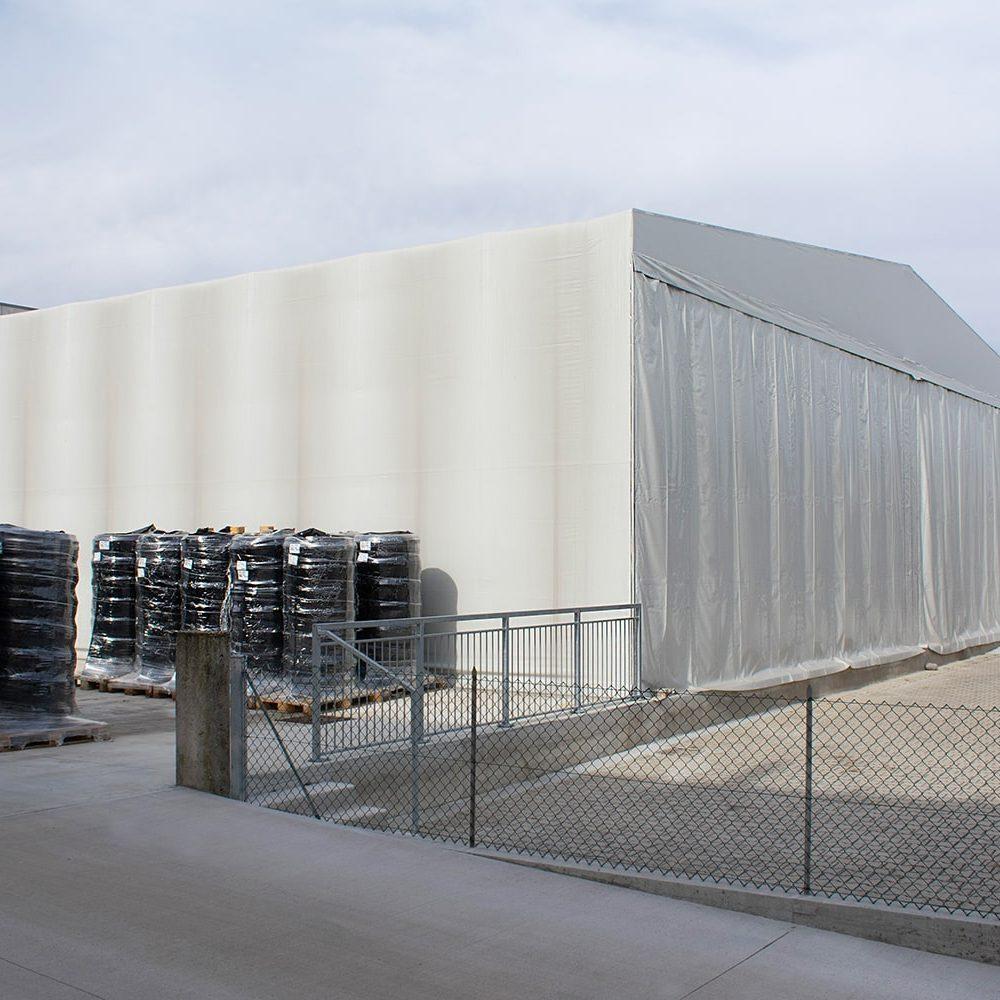 Tunnel mobili industriali